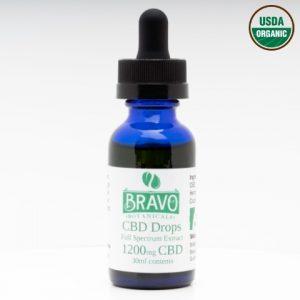 Bravo Botanicals CBD Drops 1200 mg