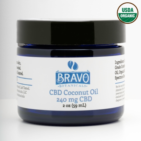 Bravo Botanicals CBD Coconut Oil
