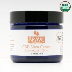 Bravo Botanicals CBD Shea Cream